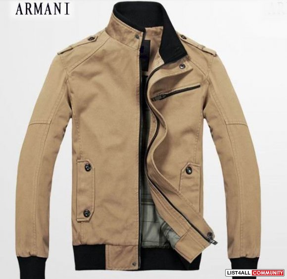 wholesale Armani Mens Cotton Outwear dropshipping,free shipping