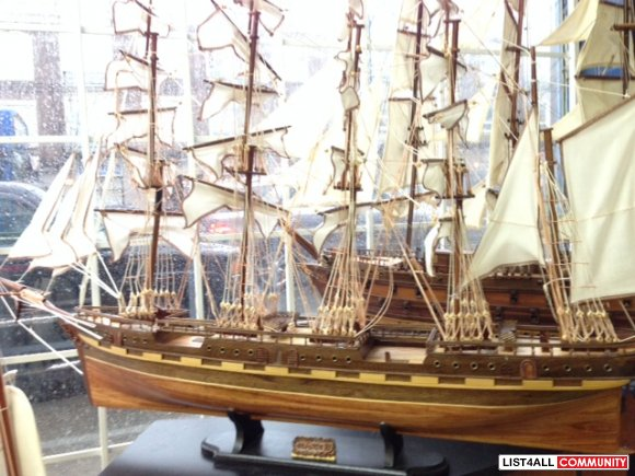 FRANCE II Replica Ship