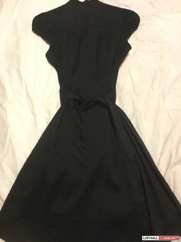 H & M Black Dress Great for work Size 4