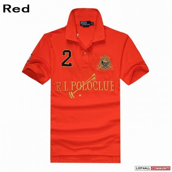 Ralph Lauren Men RL Polo Club Dual Match Ribbed Polo Collar