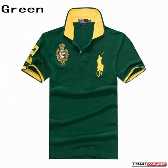 Ralph Lauren Men UAE Big Pony Short Sleeve Polo Outlet Sale