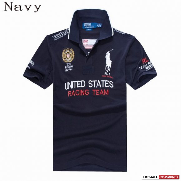 Polo Ralph Lauren Men United states Racing Team Short Sleeve Sale