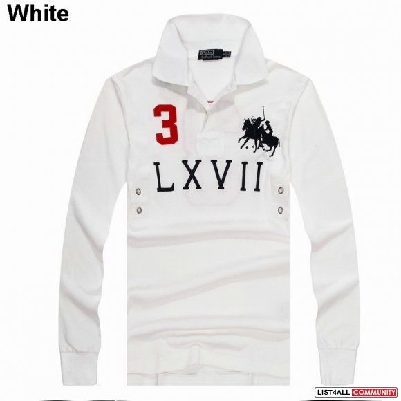 Ralph Lauren Custom-Fit Dual Match Long Sleeve Polo LXVII UK