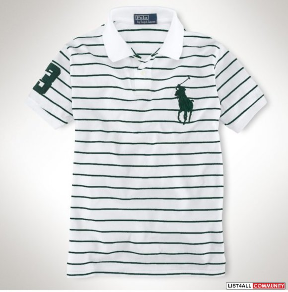 Polo Ralph Lauren Men White Big Pony Polo Shrits Shop