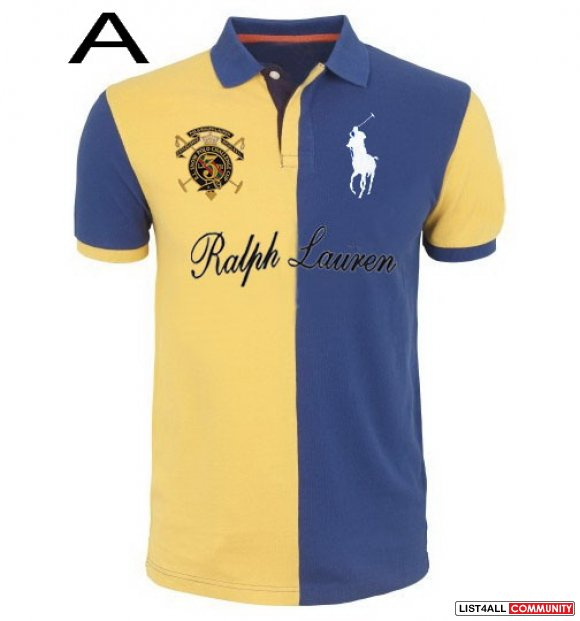 Ralph Lauren Men RL Snow Polo Challenge Cup Half Split Polo Shirt