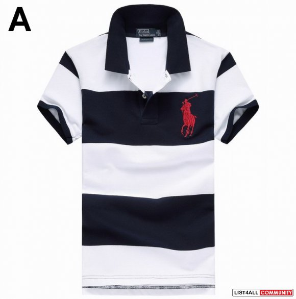 Polo Ralph Lauren Men Bold Striped Big Pony UK Online