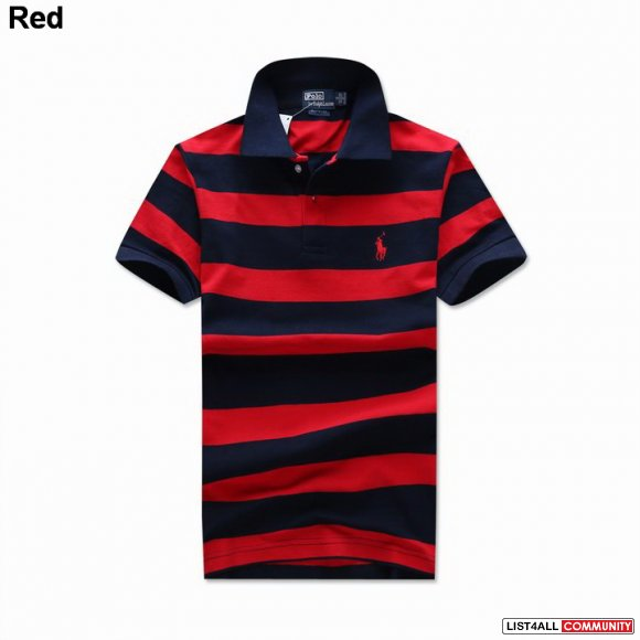Polo Ralph Lauren Men Custom Striped Stretch Mesh Small Pony