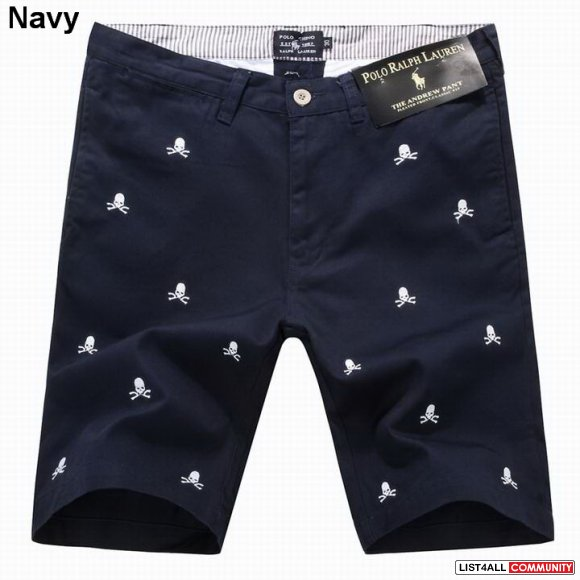 Ralph Lauren Men Embroidered Mastermind Pant Shorts