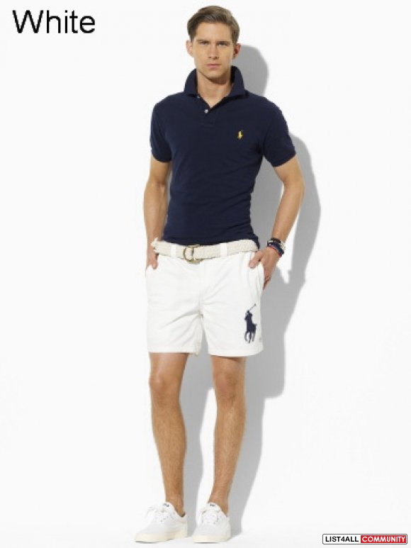 Ralph Lauren Core Classic Fit Flat Front Chino Shorts Online Shop