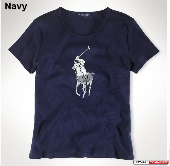 Ralph Lauren Women Short Sleeve Polo Tee UK Outlet