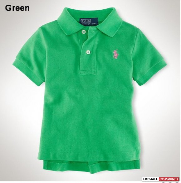 Ralph Lauren Kid Classic-Fit Cotton Mesh Polo
