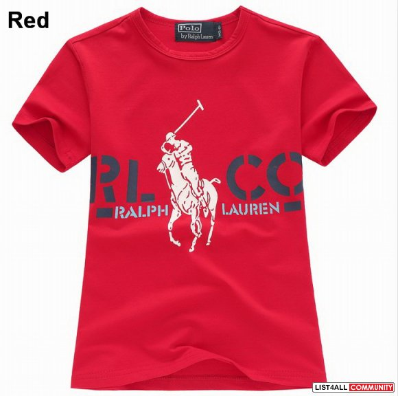 Polo Ralph Lauren Kids Cotton Graphic Big Pony Tee On Sale