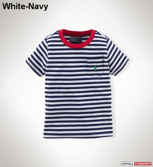 Polo Ralph Lauren Kids Short Sleeve Pocket T Shirts Outlet