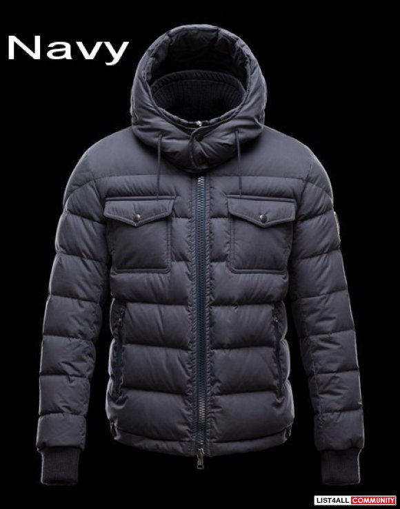 Moncler Fedor Men Flag Detachable Hood Down Jacket Discount