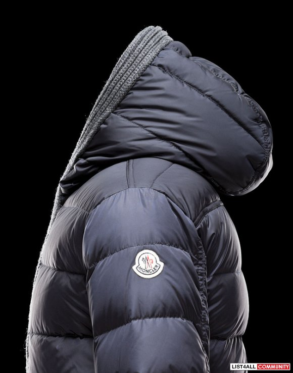 Moncler Canut Men Bright Lightweight Silky Smooth Jacket Outlet