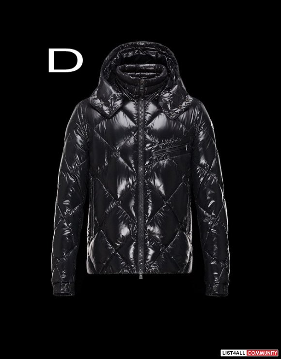 Moncler Newman Men Down Proof Detachable Hood Shiny Jacket Sale