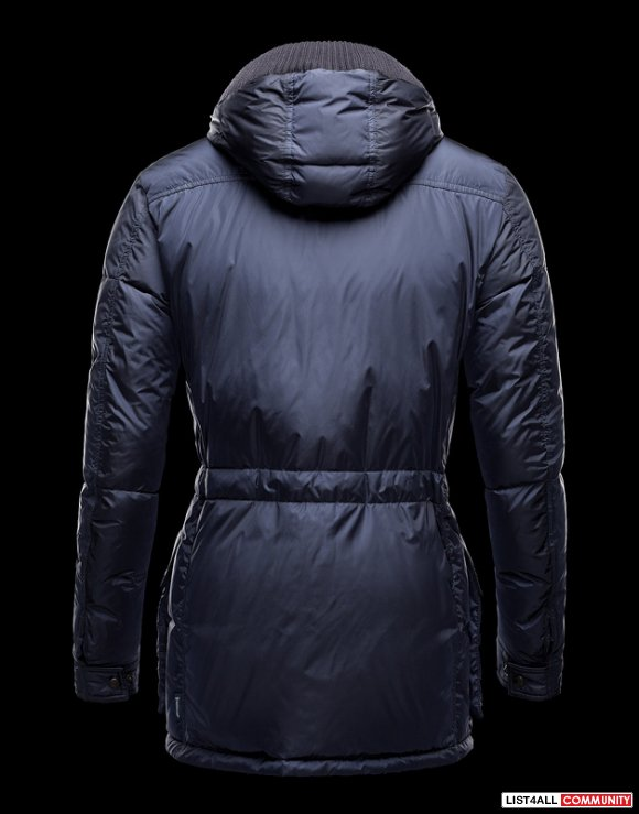 Moncler Mathias Men Detachable Hood Padded Jacket For Sale
