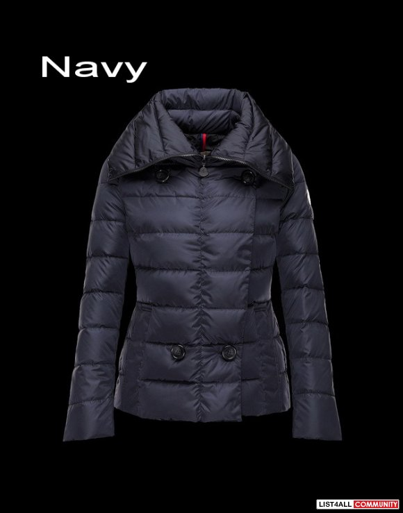Moncler Palas Women Light Bright Double Breasted Jacket Outlet