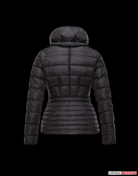 Moncler Women Techincal Nylon Light Bright Grosgrain Inset Jacket