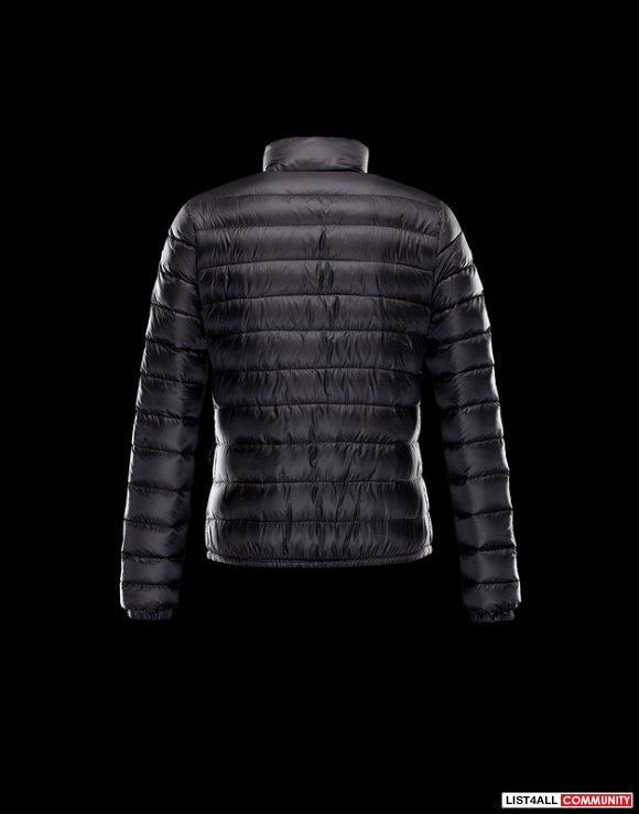 Moncler Lans Women Full Zip Lightweight Down Jacket On Sale