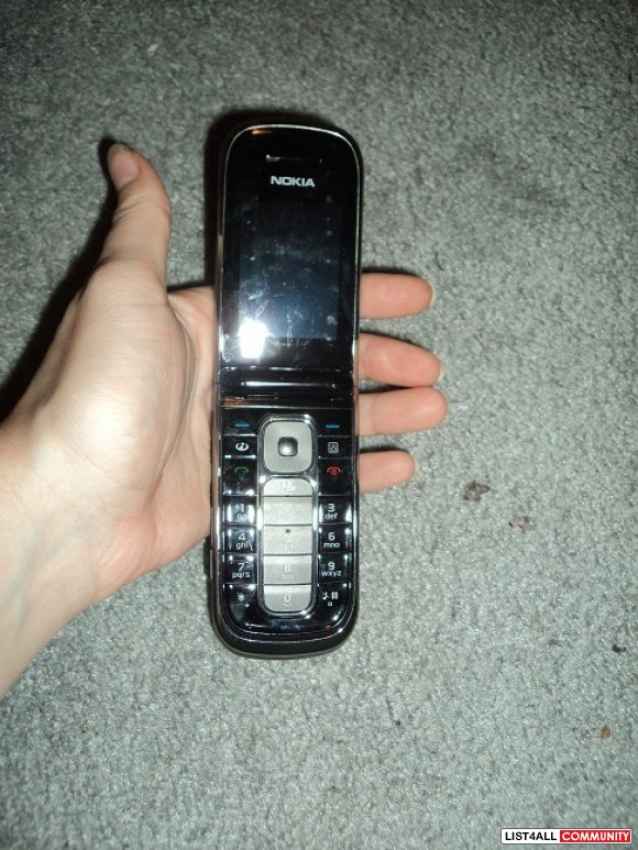 Nokia flip phone( no battery)