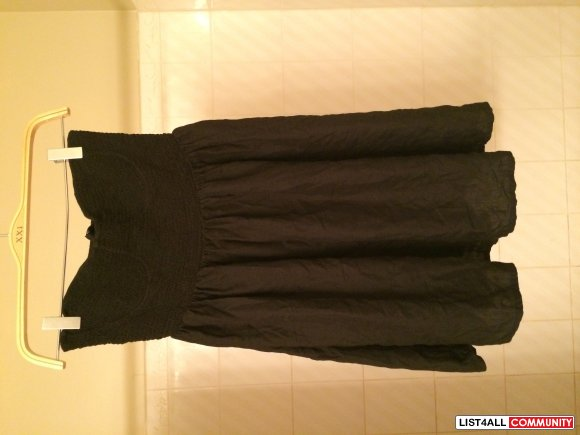 Topshop Strapless Dress Size Small