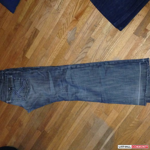 Rock and Republic Jeans size