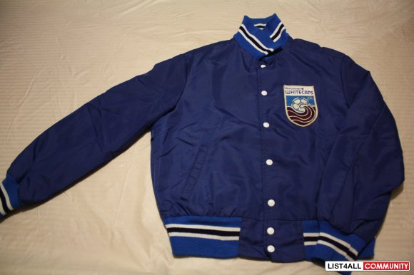 Vintage Rtb45 List4all 50obo Jacket Whitecaps Shain Vancouver --- By