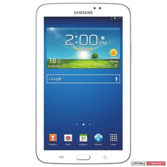 "Samsung Galaxy Tab 3 7"" 8GB  WHITE SEALED"