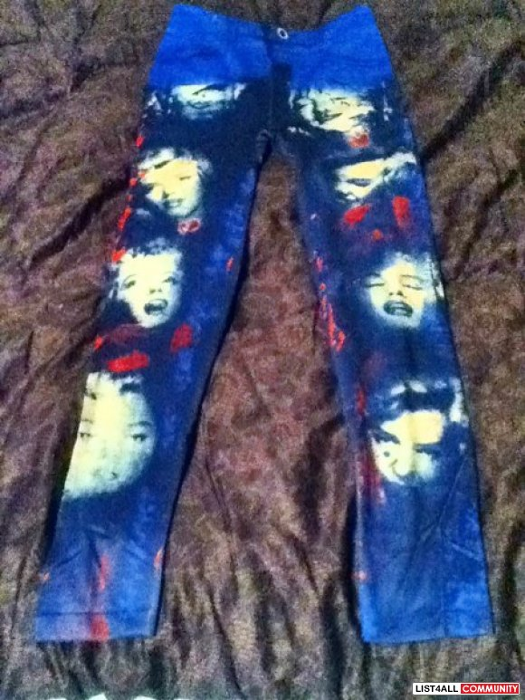 Marilyn Monroe Leggings Free Size