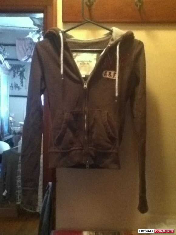 Abercrombie & Fitch Zip Up Hoodie XS