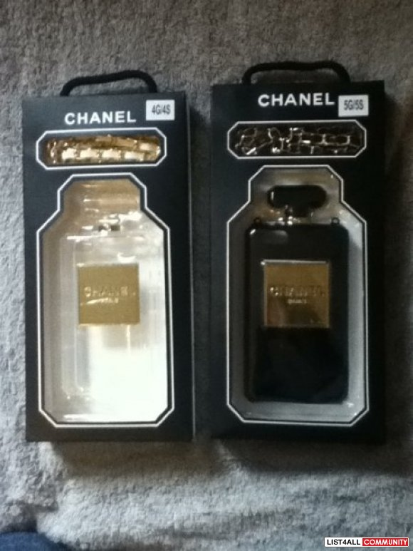 Chanel Perfume iPhone (4/4s)