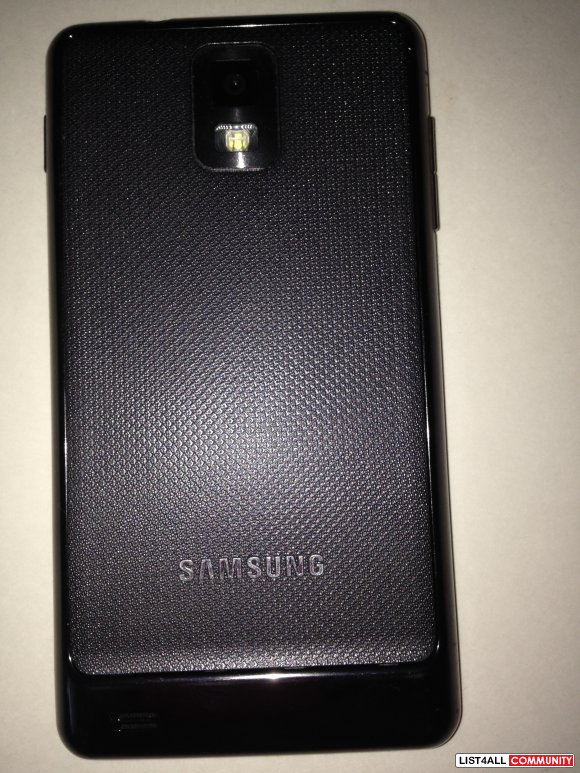samsung infuse