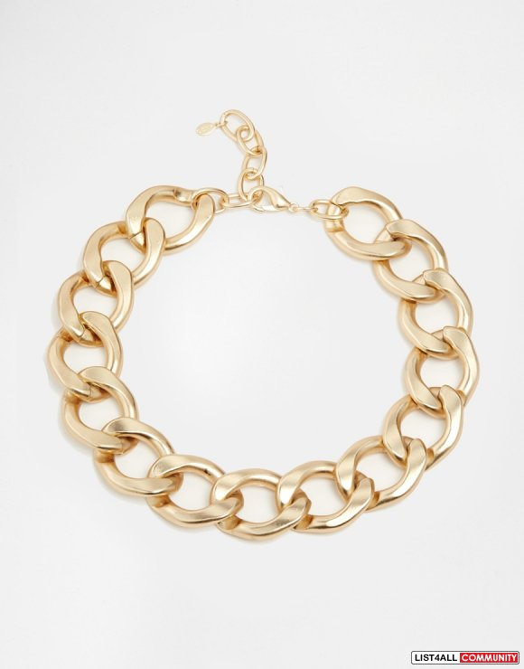 ALDO Morfitt Gold Chain Necklace