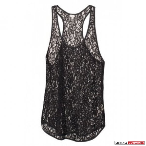 (SALE $15) Wilfred Madeline Lace Tank