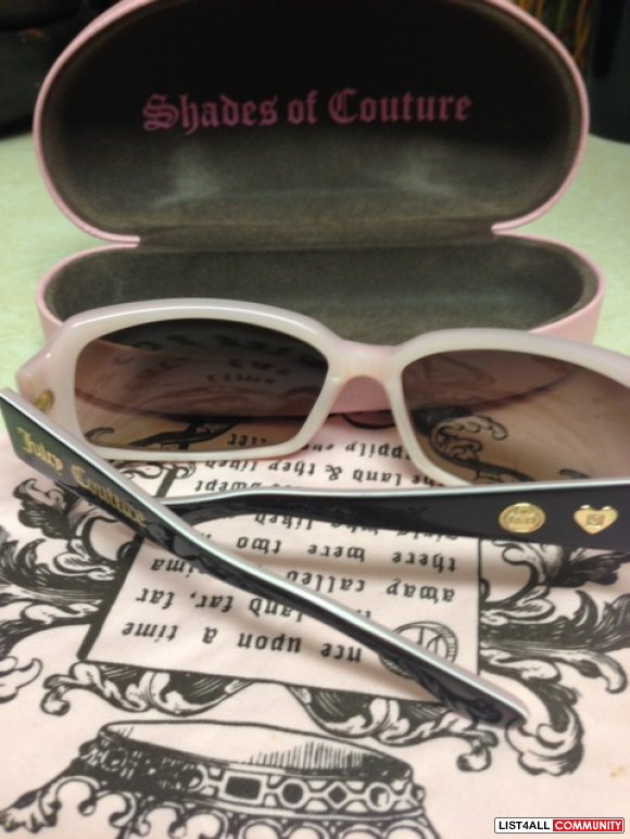 Authentic Juicy Couture sunglasses