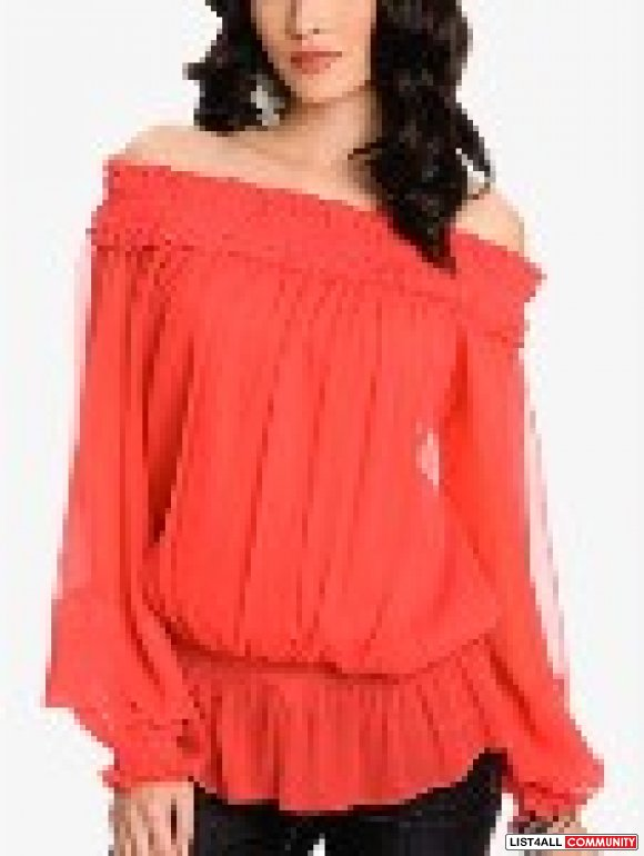 Marciano chiffon blouse s-m bought it $134