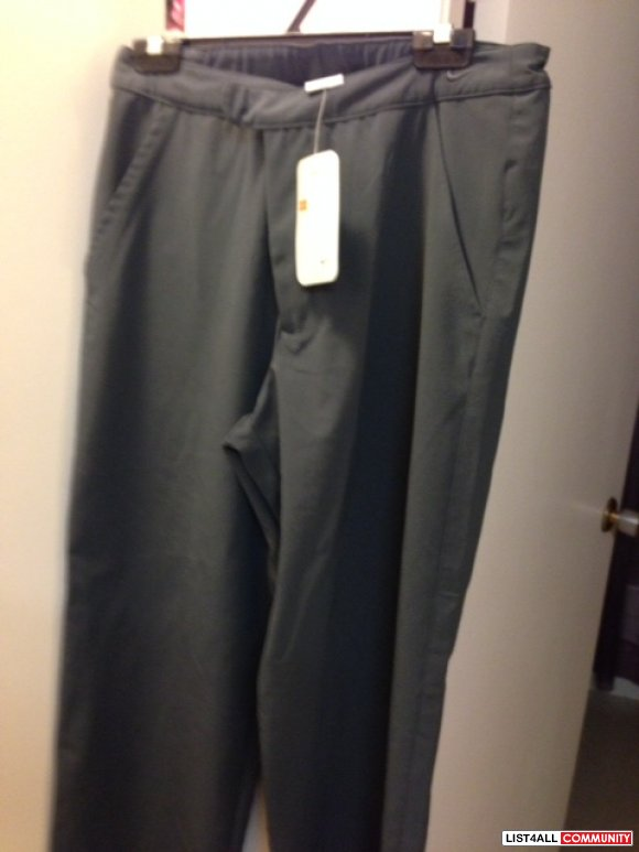 Nike Grey polyester pants NWT
