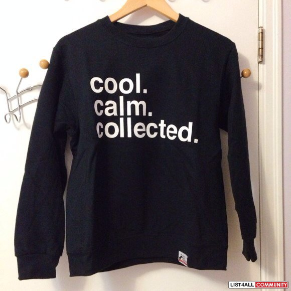 Cool Calm Collected Crewneck XzDRUAW