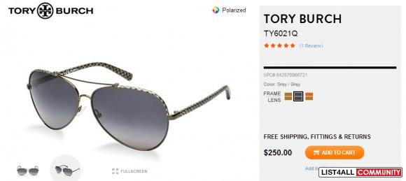 Tory Burch Aviators