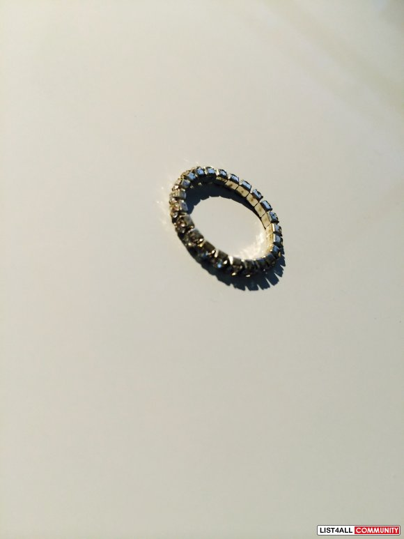 Stretchable Crystal Ring