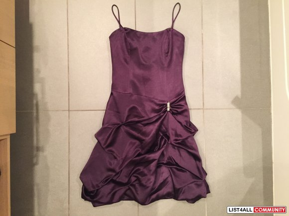 Purple Prom / Bridesmaid Dress