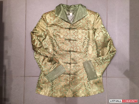 Chinese Traditional Green Jacket