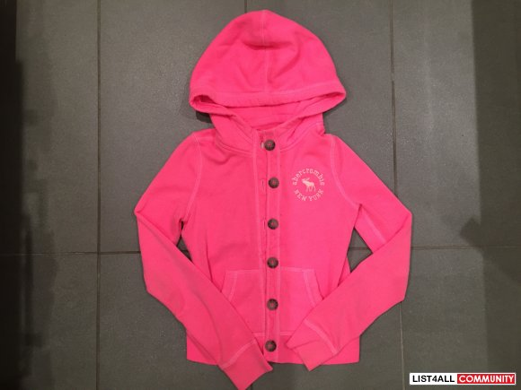 ABERCROMBIE GIRLS Pink Sweater