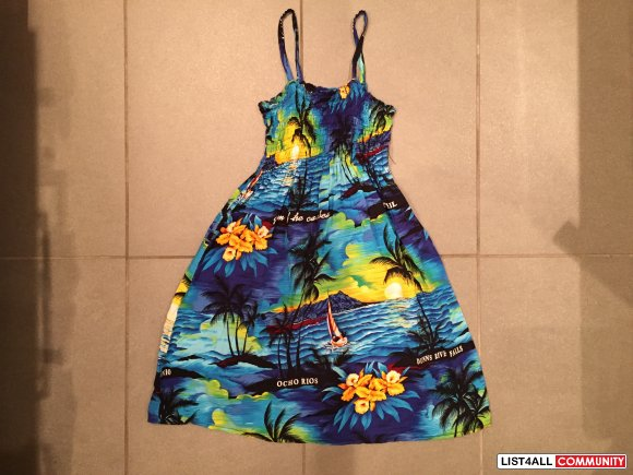Girls Hawaiian Dress