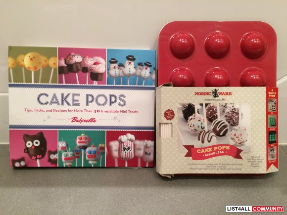 CAKE POP Maker + Cookbook