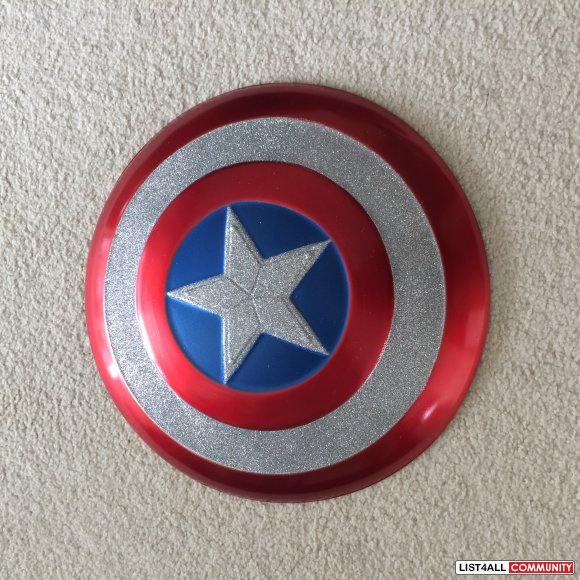 Captain America Shield for Halloween Costume