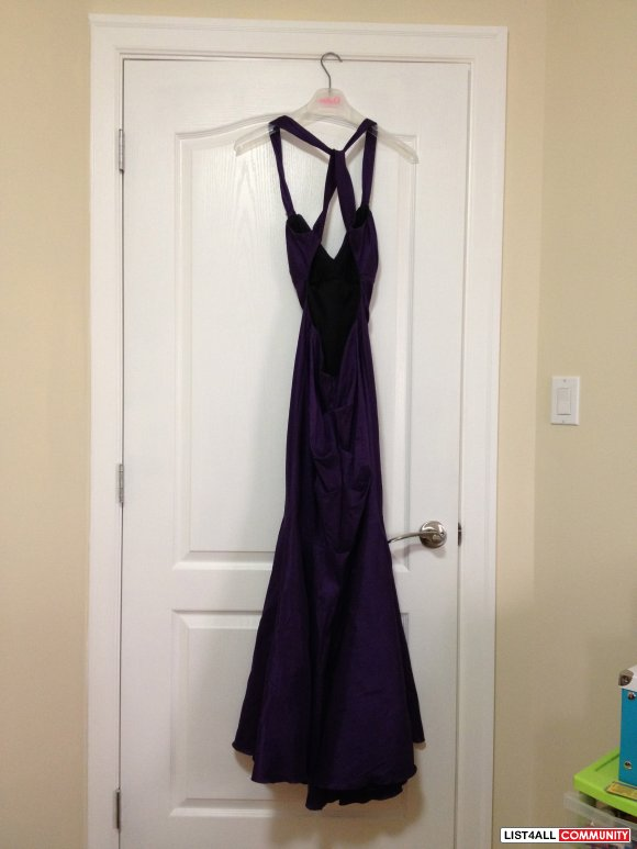 New Purple Prom/Special Occasion Dress