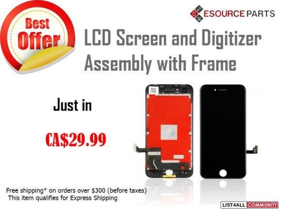 8 4.7 LCD Screen and Digitizer Assembly  - $29.99 CAD