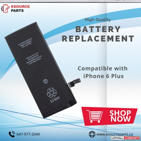 High-Quality Battery replacement for iPhone 6 plus